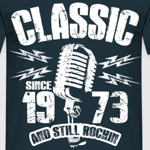 1973 And Still Rockin T-Shirts - Männer T-Shirt