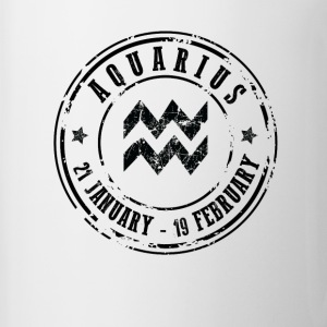 Aquarius Mugs & Drinkware - Mug