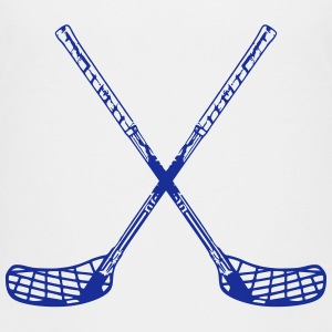 Floorball Sticks Shirts - Teenage Premium T-Shirt