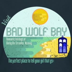 Visit Bad Wolf Bay T-Shirts - Frauen T-Shirt