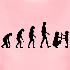 Evolution Erzieherin - Mama - Kindergarten T-Shirts - Frauen Premium T-Shirt