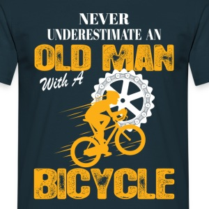 Bicycle Old Man T-Shirts - Men's T-Shirt