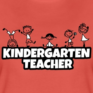 kindergarten teacher T-Shirts - Frauen Premium T-Shirt