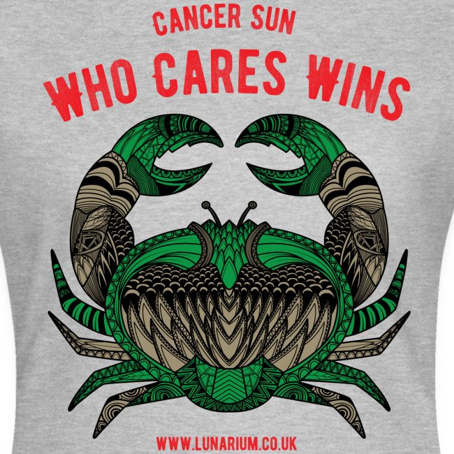 Cancer Sun Sign Women's T-Shirt