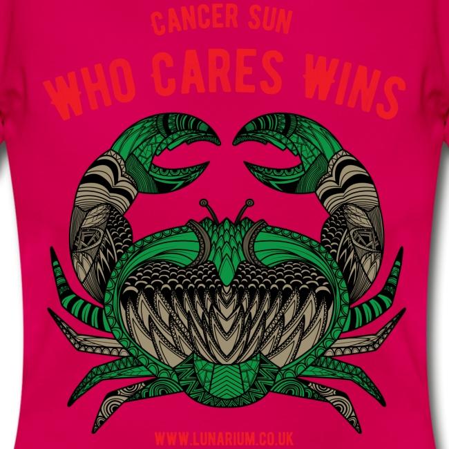 Cancer Sun Sign Women's T-Shirt