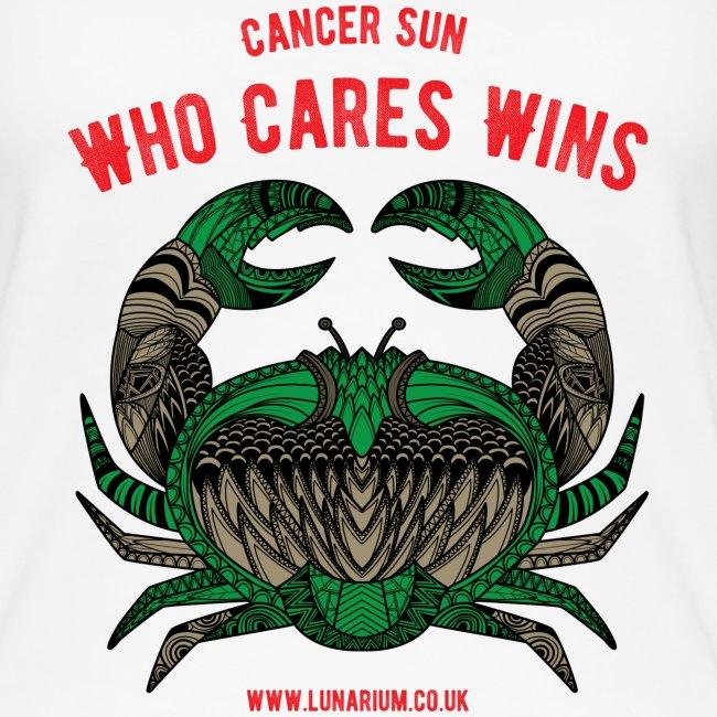 Cancer Sun Sign Women's Organic Tank Top