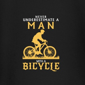 NEVER UNDERESTIMATE A MAN WITH BICYCLE! Baby Long Sleeve Shirts - Baby Long Sleeve T-Shirt