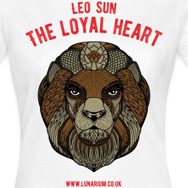 Leo Sun Sign Women's T-Shirt