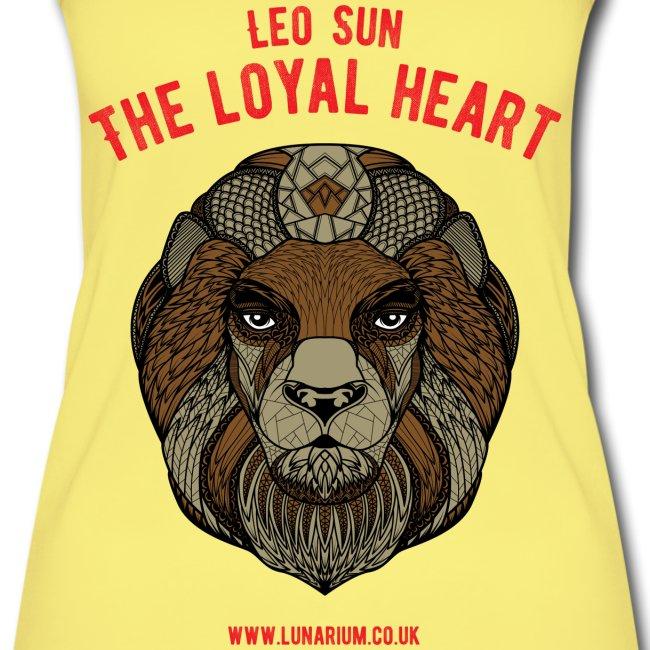 Leo Sun Sign Women's Organic Tank Top