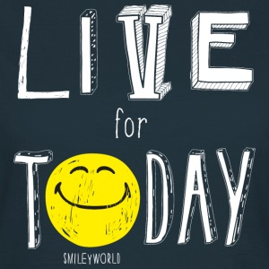 SmileyWorld Live for Today - Camiseta mujer