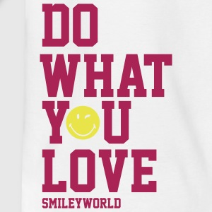 SmileyWorld Do What You Love - Teenager T-Shirt