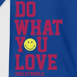SmileyWorld Do What You Love - Kinderen T-shirt