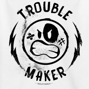SmileyWorld Troublemaker Unruhestifter - Teenager T-Shirt