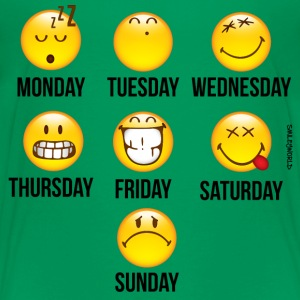 SmileyWorld Mood Calender - Kids' Premium T-Shirt