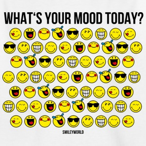 SmileyWorld What's Your Mood Today? - T-shirt Ado