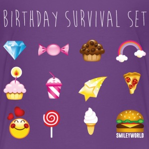 SmileyWorld Birthday Survival Set - Kinder Premium T-Shirt