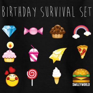 SmileyWorld Birthday Survival Set - Teenage T-shirt