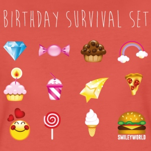 SmileyWorld Birthday Survival Set - Premium-T-shirt dam
