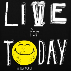 SmileyWorld Live for Today - Stoffbeutel