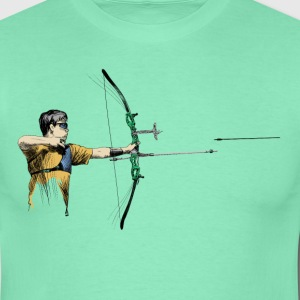 Archer T-shirts - Herre-T-shirt