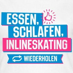 Hobby Inlineskating T-Shirts - Frauen T-Shirt