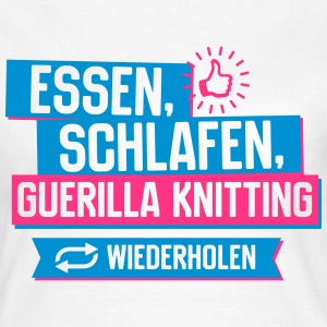 Hobby Guerilla Knitting T-Shirts - Frauen T-Shirt