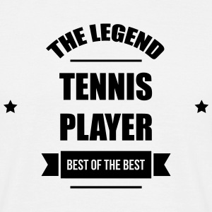 Tennis - Sport - Ball - Player - Game -  Sportsman T-shirts - Mannen T-shirt