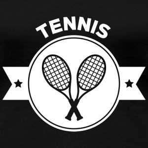 Tennis - Sport - Ball - Player - Game -  Sportsman Tee shirts - T-shirt Premium Femme