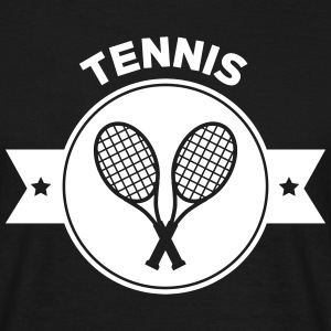 Tennis - Sport - Ball - Player - Game -  Sportsman T-shirts - T-shirt herr