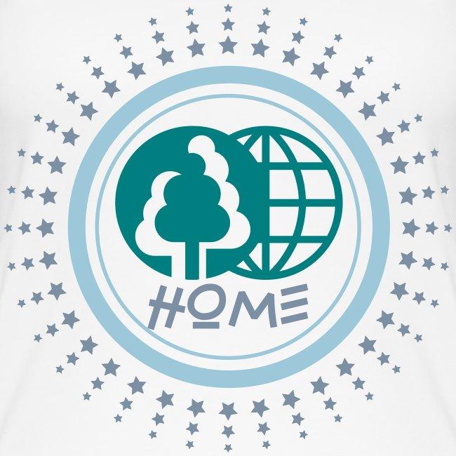Débardeur bio pour femmes Planète home Sweet home