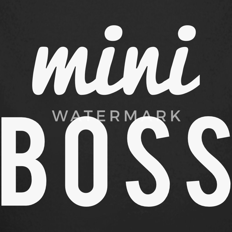 Mini Boss Baby Bodys - Baby Bio-Langarm-Body
