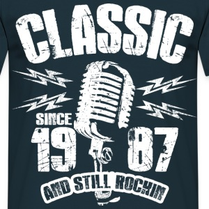 1987 And Still Rockin T-Shirts - Männer T-Shirt