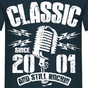2001 And Still Rockin T-Shirts - Männer T-Shirt
