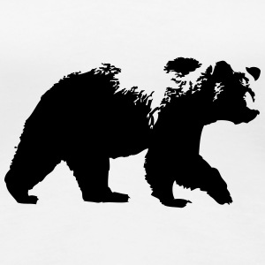 Grizzly Bear- Bär T-Shirts - Frauen Premium T-Shirt