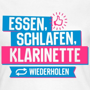 Hobby Klarinette T-Shirts - Frauen T-Shirt