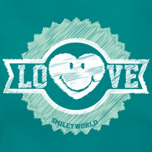 SmileyWorld Love Badge - Women's T-Shirt
