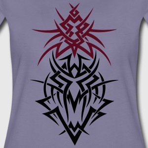 Drache im Tribal Design, fantasy dragon T-Shirts - Women's Premium T-Shirt