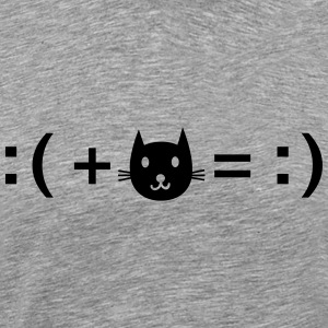 Formula For Happiness (Cat) Camisetas - Camiseta premium hombre