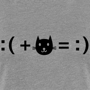 Formula For Happiness (Cat) T-Shirts - Women's Premium T-Shirt