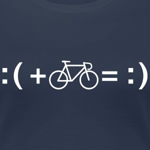 Formula For Happiness (Bike) T-Shirts - Women's Premium T-Shirt