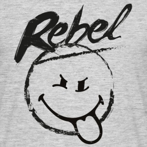 SmileyWorld Rebel Smiley - Maglietta da uomo