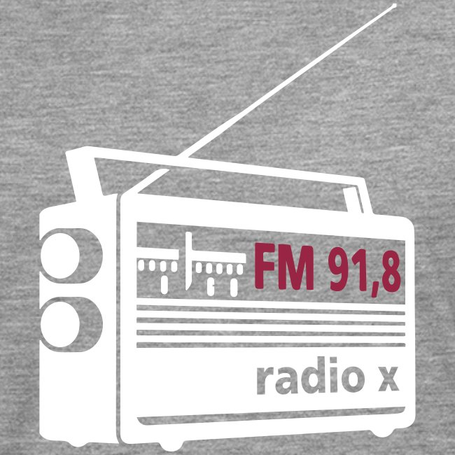radio x - weiß