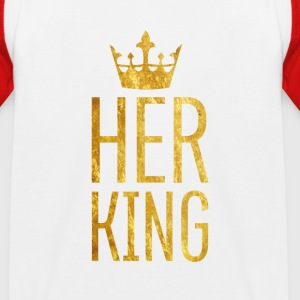 King // Kindershirt - Kinder Baseball T-Shirt