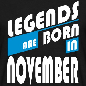Legends of November - Männer T-Shirt