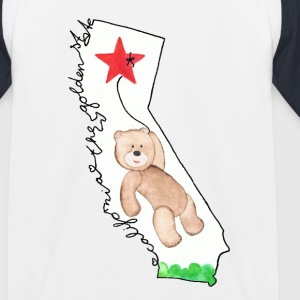 Cali-Bear - Kinder Baseball T-Shirt