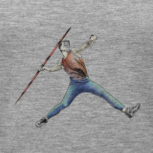 javelin throw Topy - Tank top damski Premium