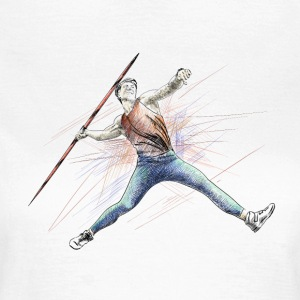javelin throw T-shirts - Vrouwen T-shirt