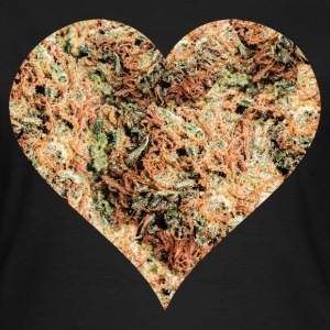 Cannabis Herz T-Shirts - Frauen T-Shirt
