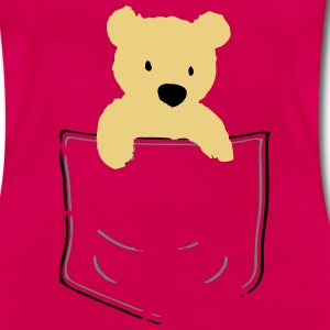 Bear in my Pocket T-Shirt - Women's T-Shirt