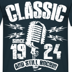 1924 And Still Rockin T-Shirts - Männer T-Shirt